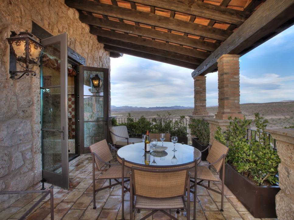 patio design ideas patio ideas | hgtv IRUVTYV