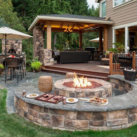 patio designs 28 backyard seating ideas BWEOVIO