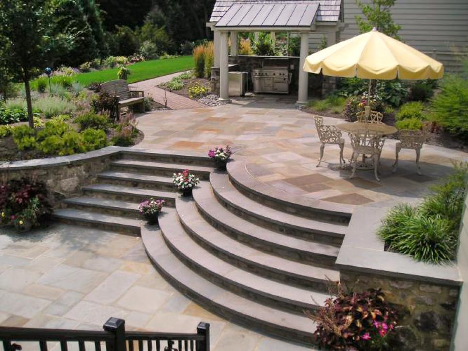 patio designs 9 patio design ideas | hgtv SWHKERO