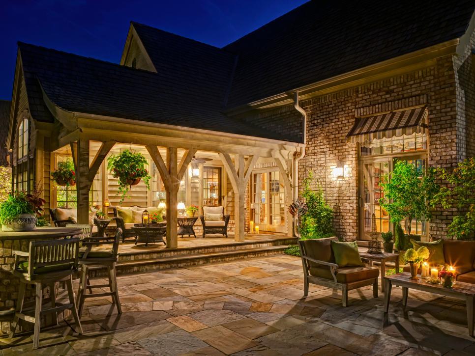 patio designs patio ideas | hgtv KENOMRN