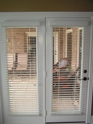 patio door blinds blinds for french doors -a way to secure and beautify your home | drapery  room KZAPQPB