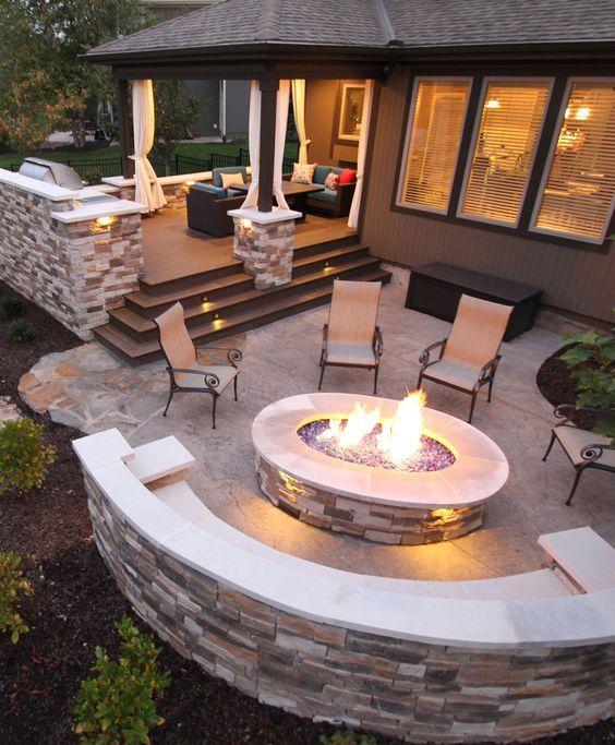patio ideas 16 creative backyard ideas for small yards CUGFXPX