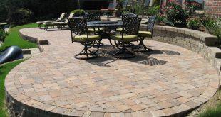 patio pavers circular-raised-patio-pavers FYLIMPC