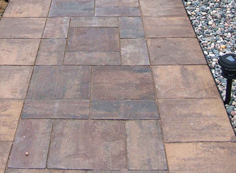 patio stones buff blend border SMISBXG