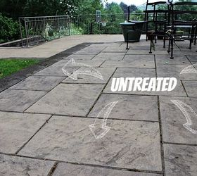 patio stones stone patio care 3 tips to keep your outdoor oasis clean all summer, home  maintenance AEFEFQL