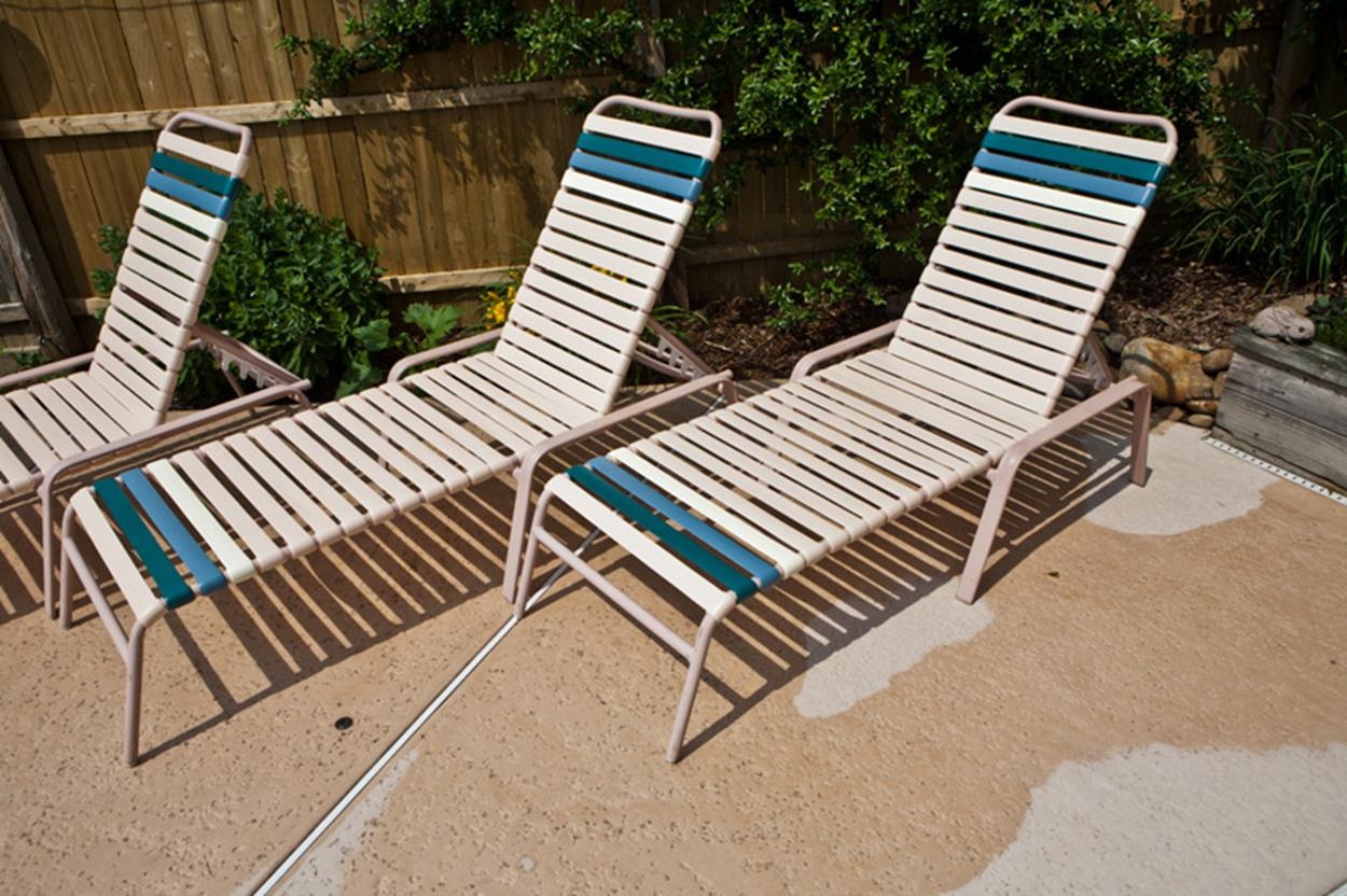 paul e. from new jersey finished his pool furniture vinyl replacements: WZOKHMJ