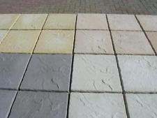 paving slabs concrete paving patio slabs - 4 colours - 450mmx450mmx38mm CCBUSGZ