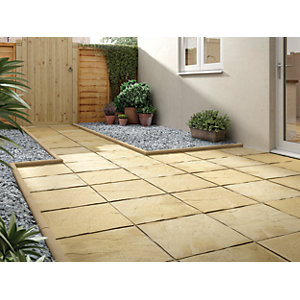 paving slabs marshalls deep pendle riven buff 450 x 450 x 32mm paving slab PRCSXTS