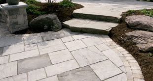 paving stones beacon hill flagstone has a natural appearance; soft blended colors, subtle  surface design gives KOLUNLL