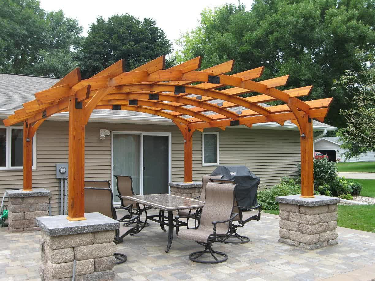 pergola designs inspirations for beauty and function in your outdoor XQBJYZI