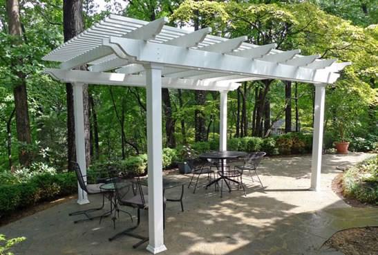 pergola kits pergola kit pergola and patio cover backyard america fredericksburg, va QHXGUCD