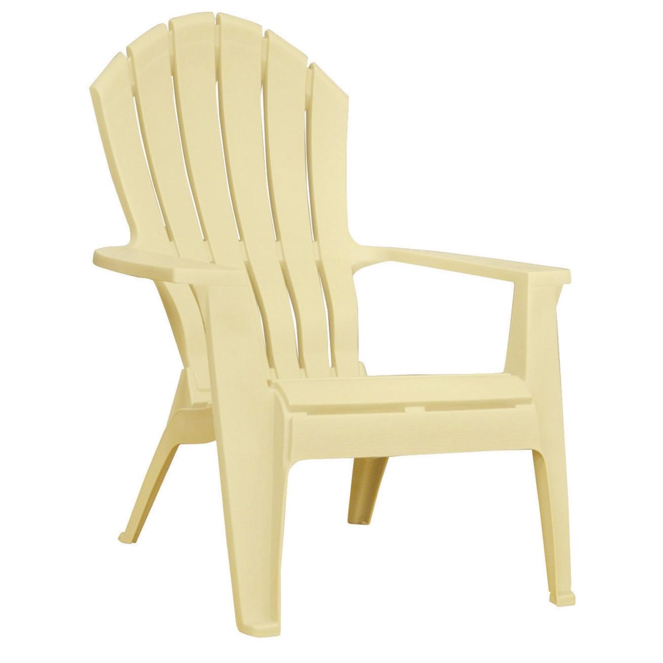 plastic adirondack chairs adams adirondack stacking chair in banana - ace hardware UKLNFBO
