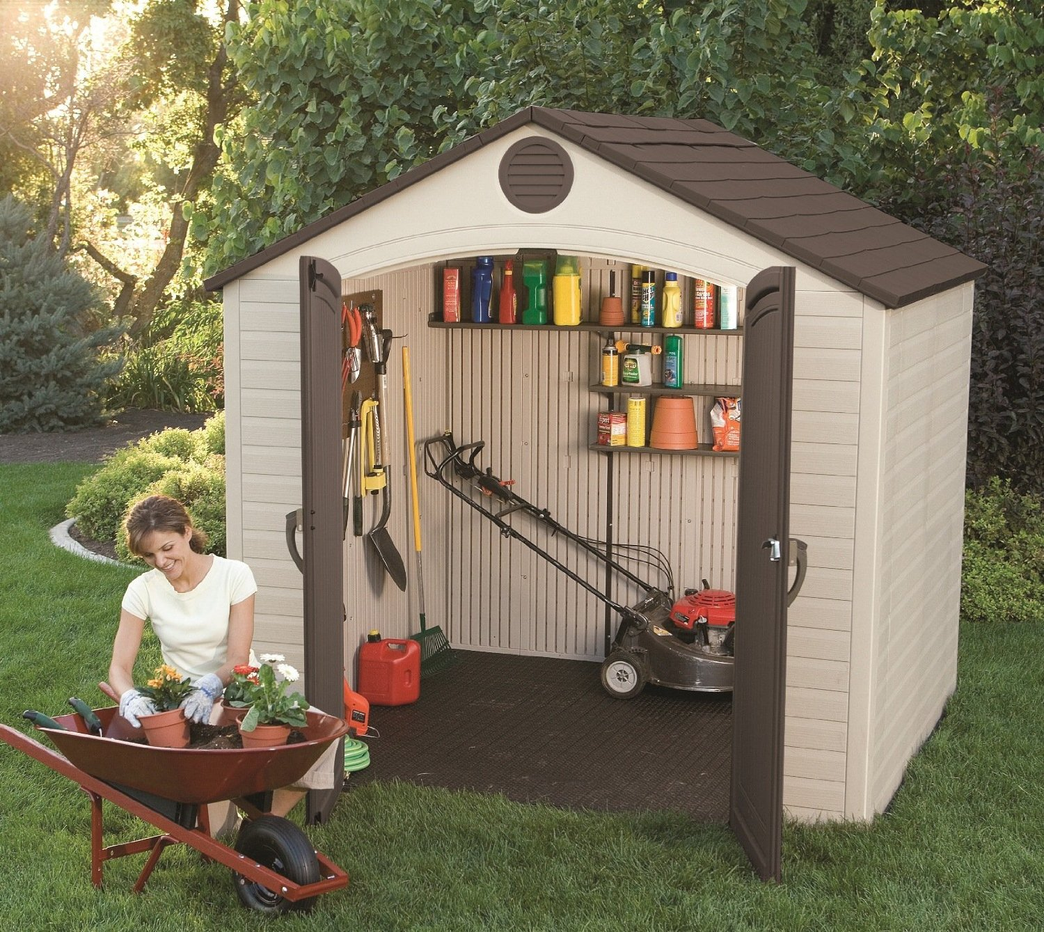 Reasons to consider having plastic sheds in your garden