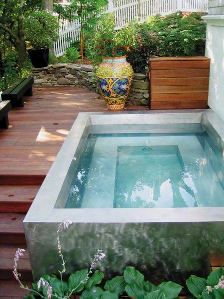 plunge pool 29 small plunge pools to suit any sized backyard (and budget) URCYDHQ