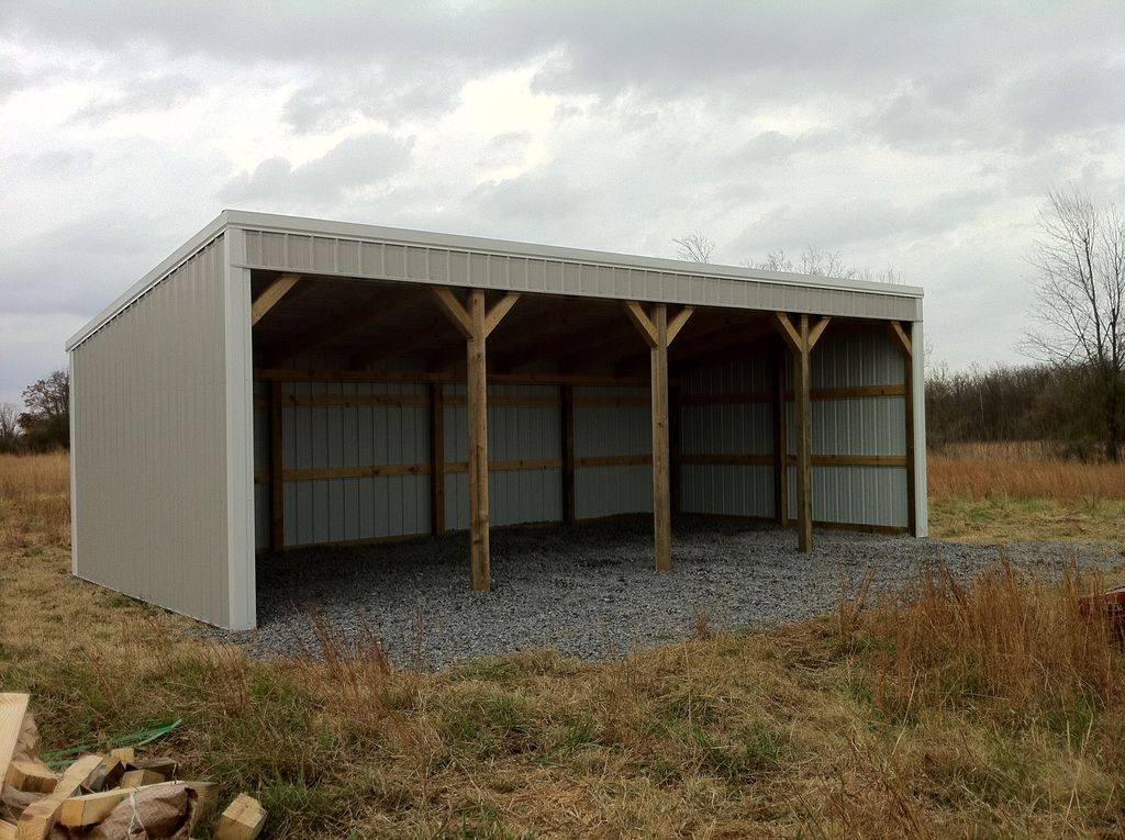 pole barn 12x40 loafing shed material list building plans how to! ZZGGVPQ
