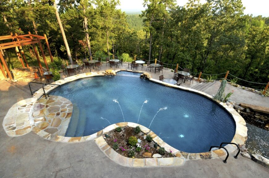 pool designs concrete-swimming-pool PFJJGYP
