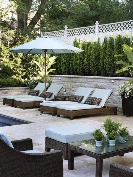 pool furniture 34 inspiring backyards. outdoor pool furnituremodern ... ZDYBWIM