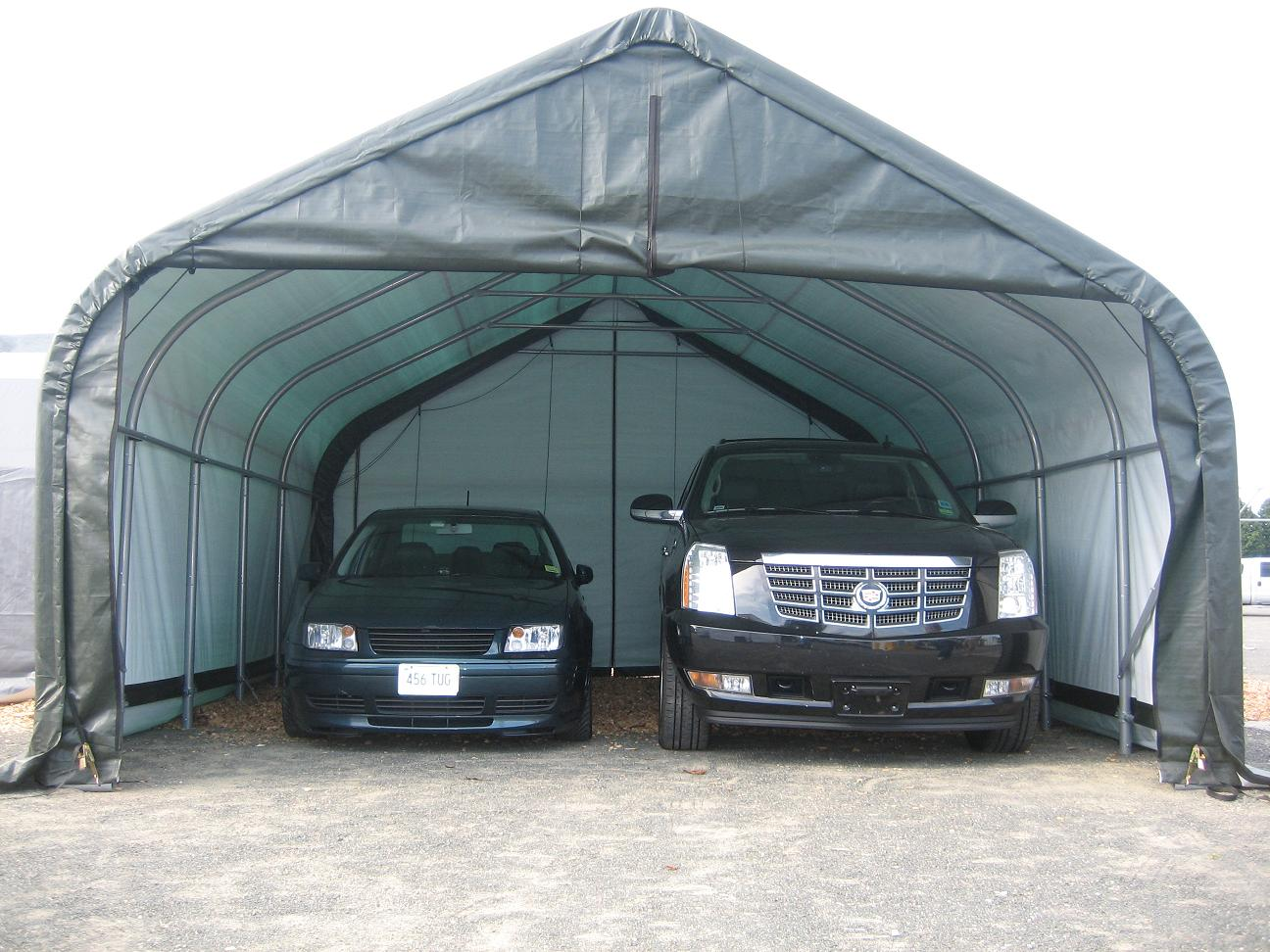portable garage - garages - garage kits - cars - trucks - carport EDDARBY