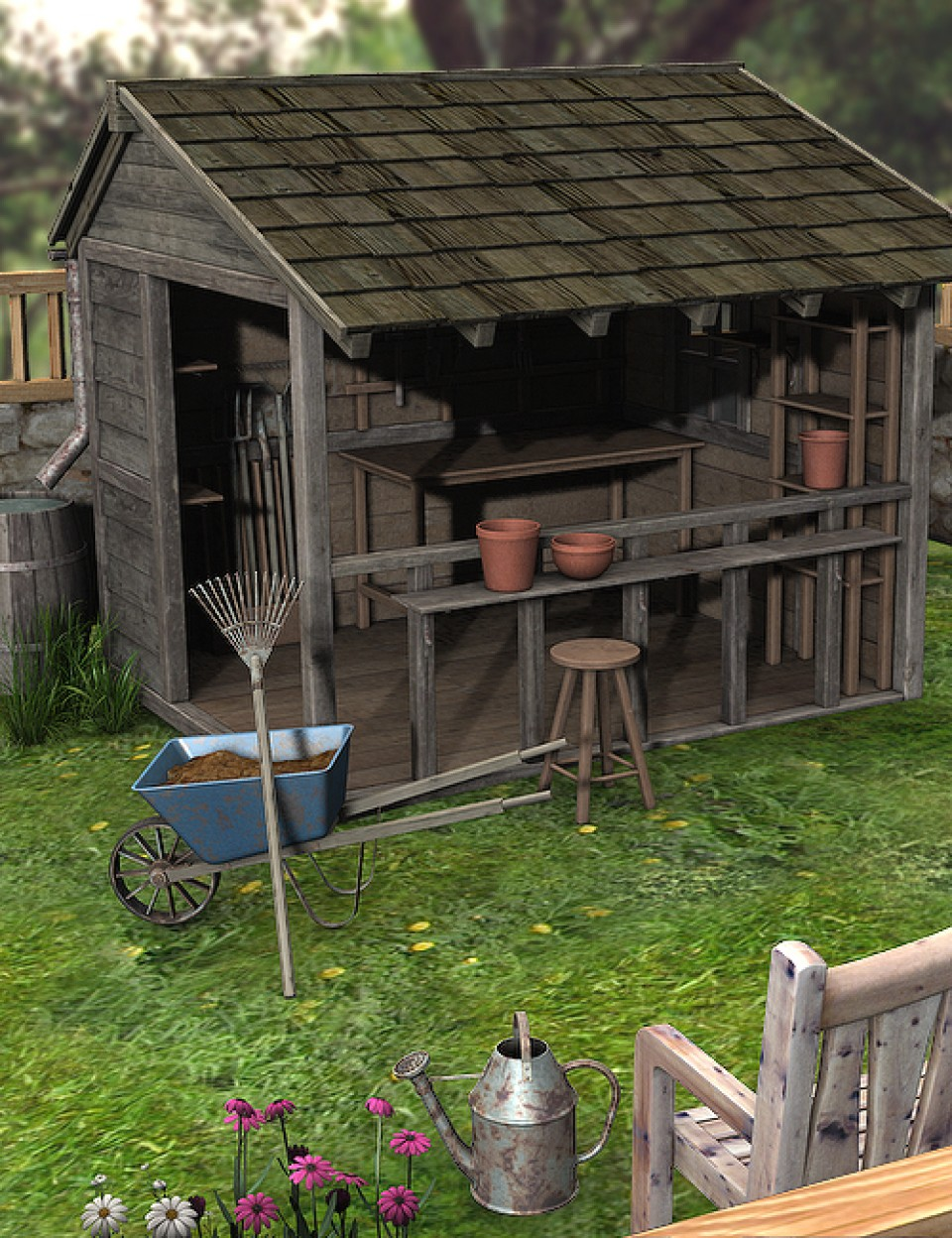 Potting Shed Guide