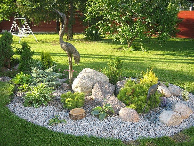 rock garden art BOPUVFB