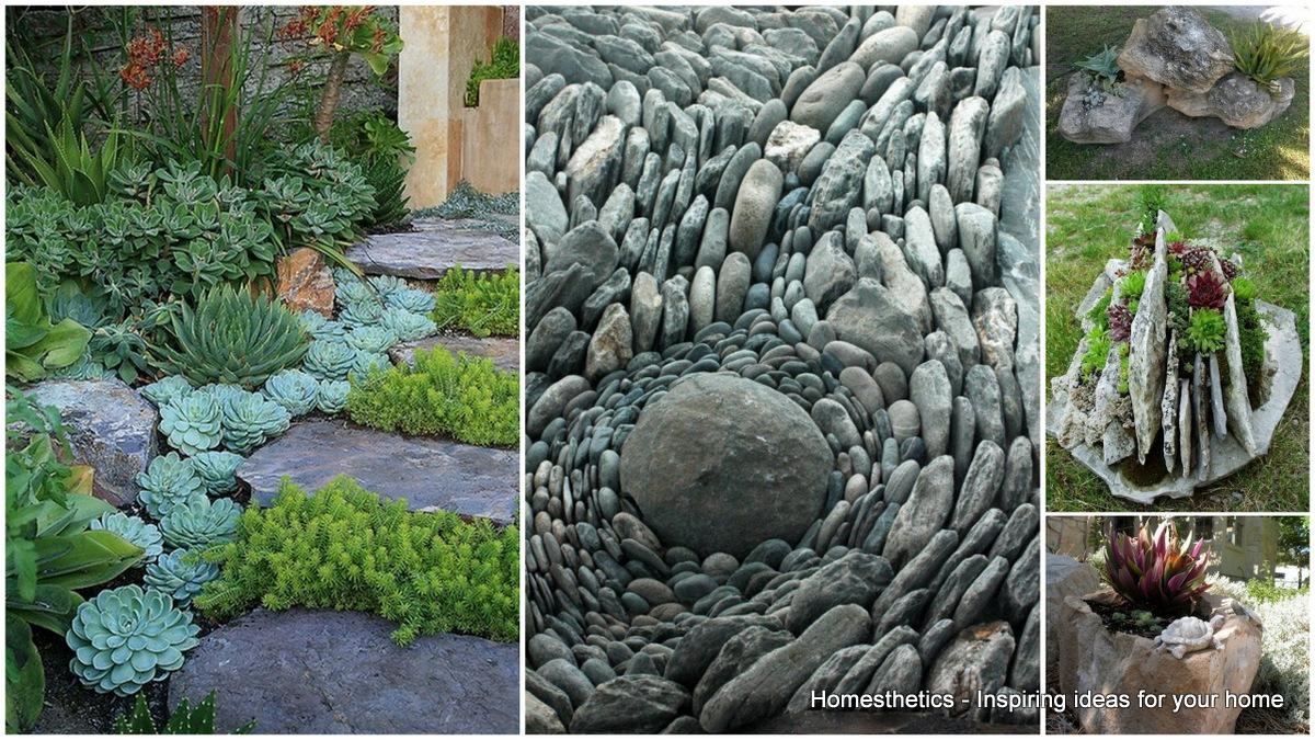 rock garden ideas to implement in your backyard AHLIOAG