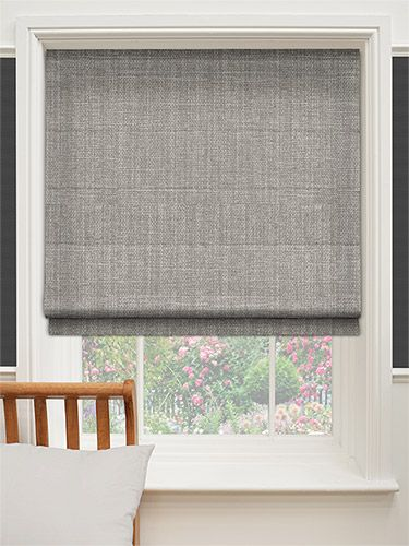 roman blinds cavendish mid grey roman blind RAKTARX