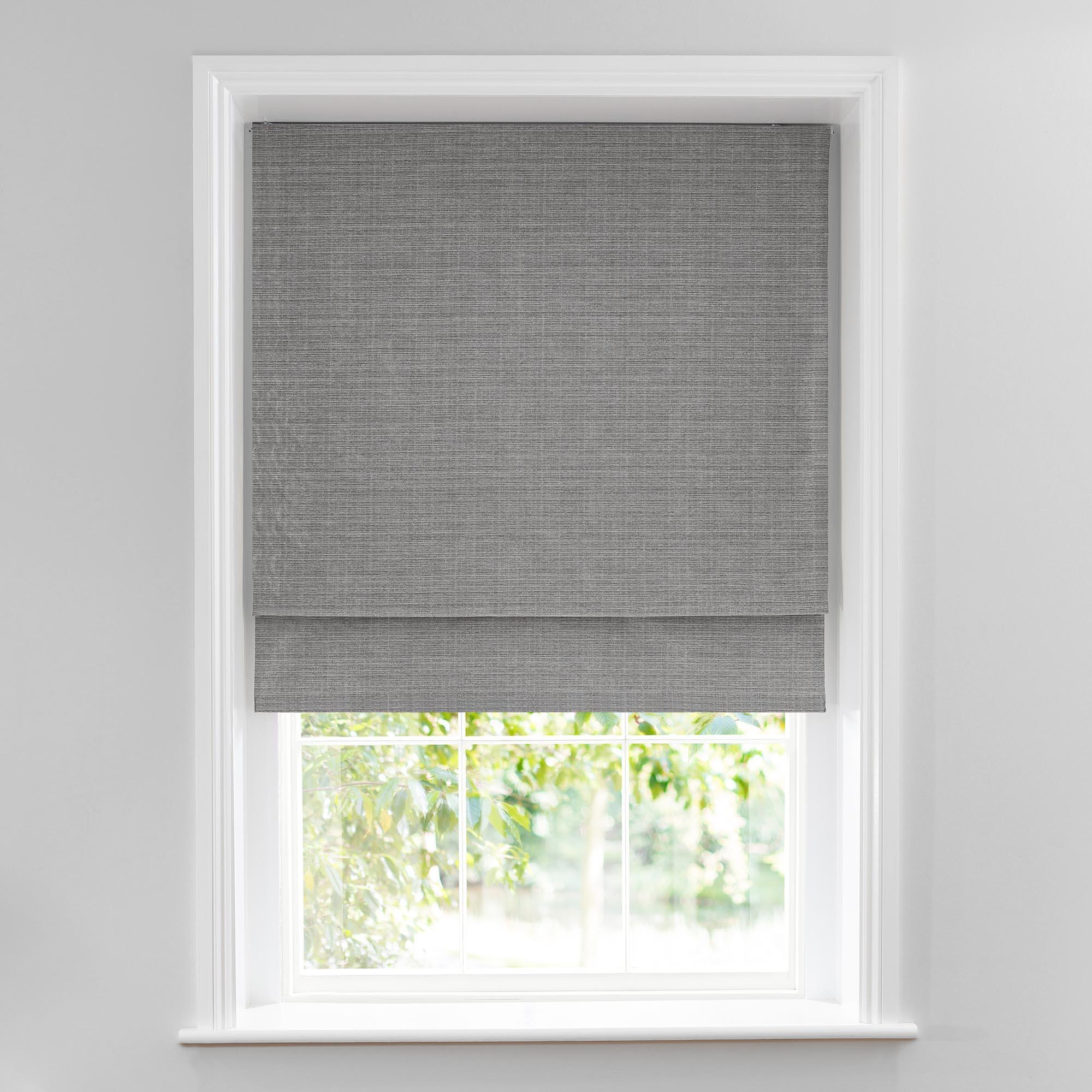 roman blinds glimmer silver lined roman blind AWPYIUP