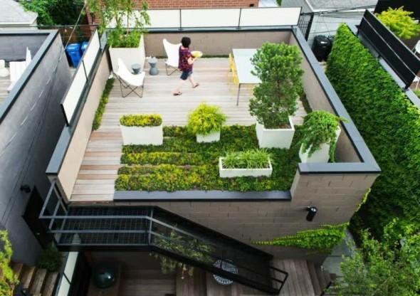 roof garden http://www.distrohome.com/wp-content/uploads/2014/07/rooftop-garden -idea-on-wooden-deck-590×416.jpg KCUBZBN