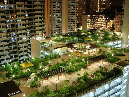 roof garden some fabulous roof gardens in singapore KHRXHBJ