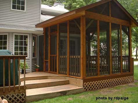 screened in porch option 3 - build your own screened porch on. your existing deck or patio UMUTHKW