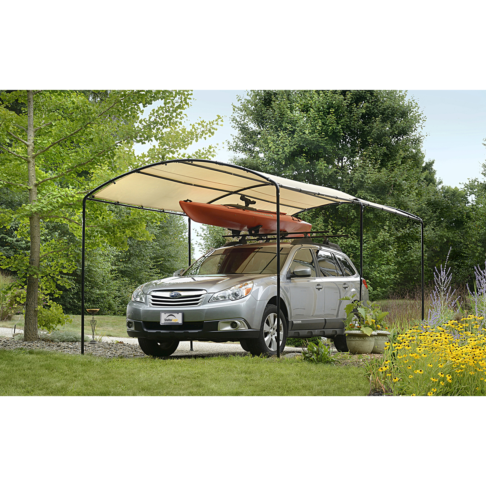 shelterlogic monarc car canopy JMHHXFA