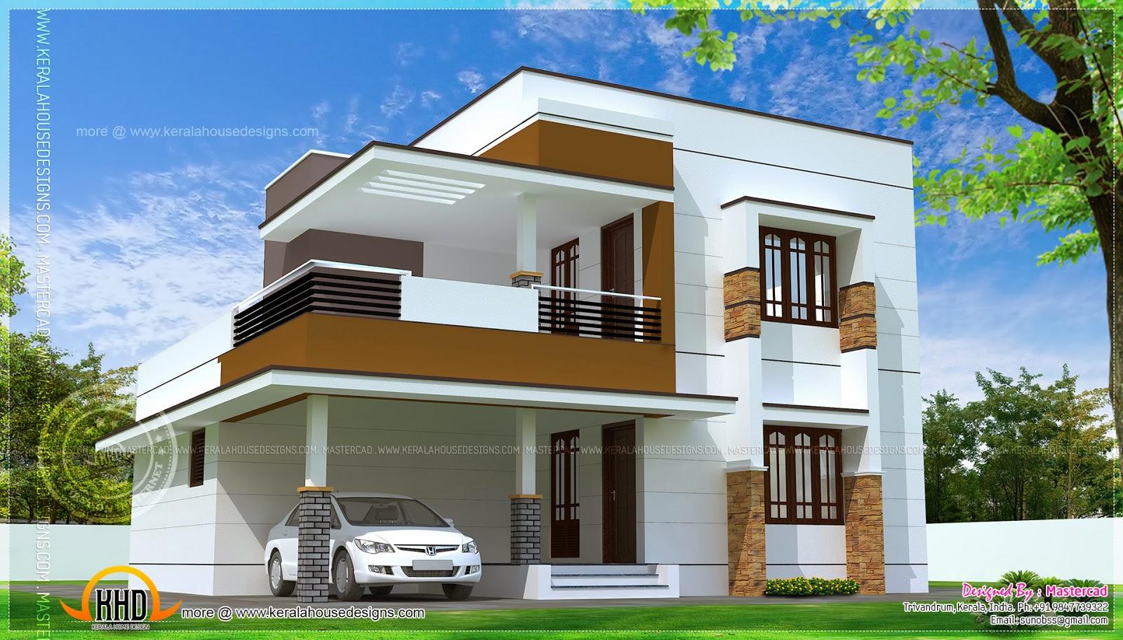 simple house design modern house plans erven 500sq m | simple modern home design in 1817 square  feet FDKAEBU
