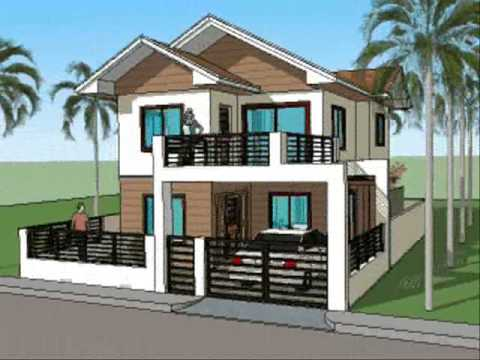 simple house design simple house plan designs - 2 level home ECPYTSL