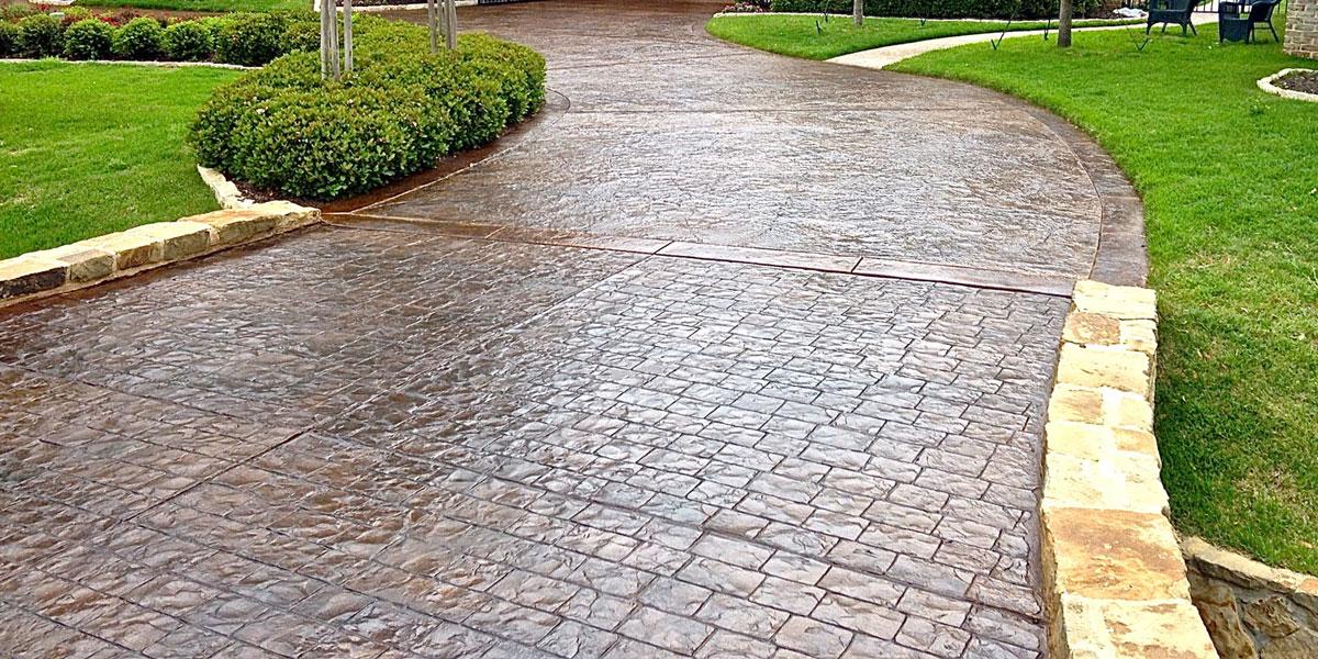 stamped concrete BFWXLUR
