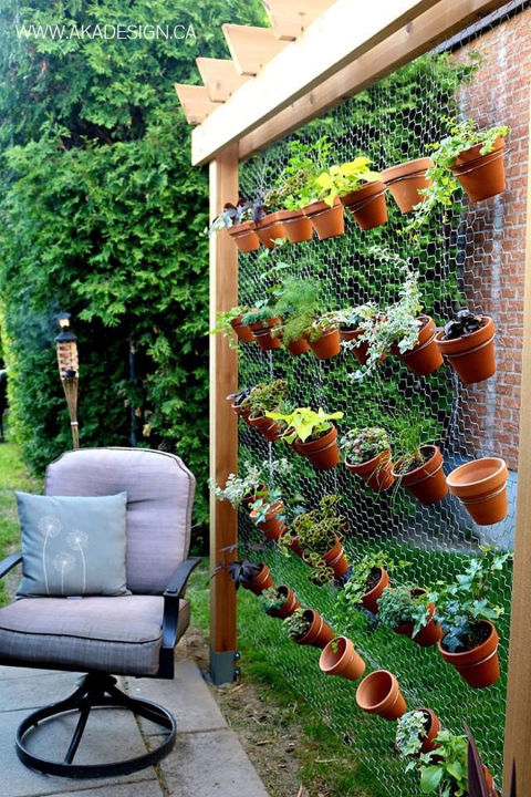 stand-alone wall. this vertical garden-built ... NGFMFBH