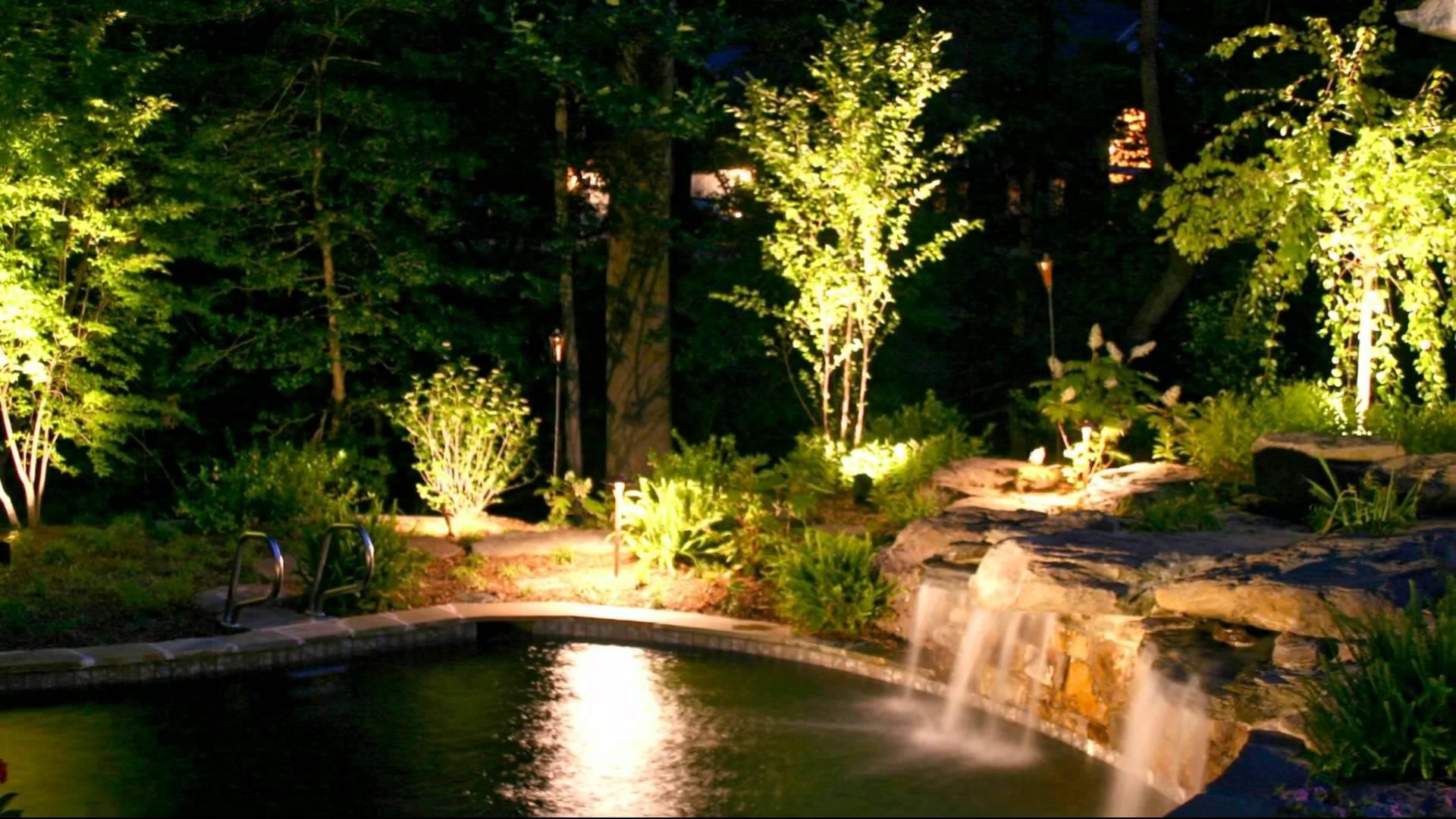 stunning outdoor lighting ideas - youtube LKFQMPP