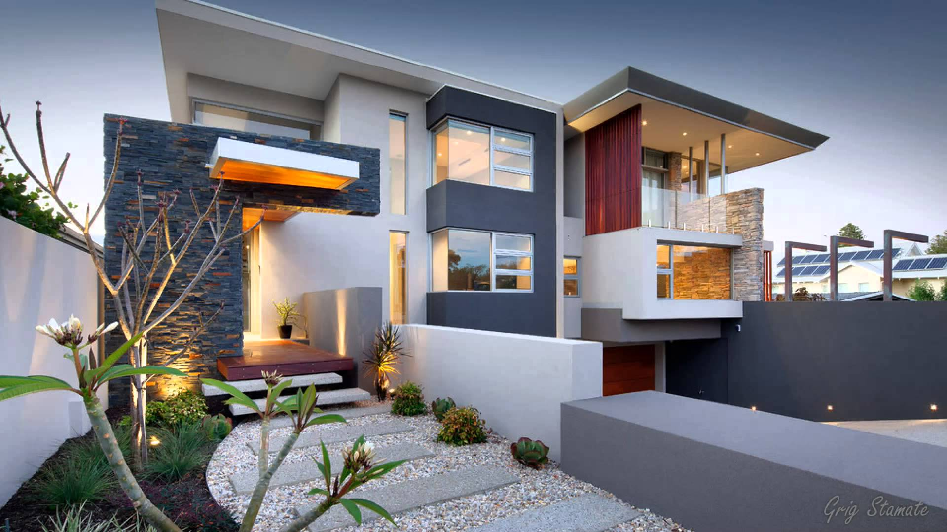 stunning ultra modern house designs - youtube IOCRRGY