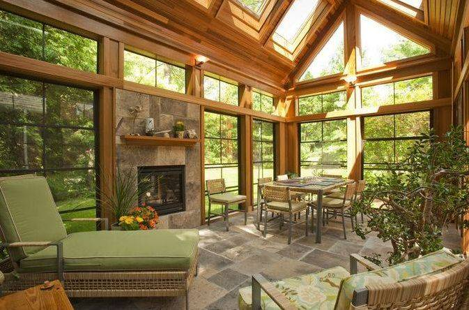 sun room ... sunroom from pioneercraftsmen.com ... FDRHCME