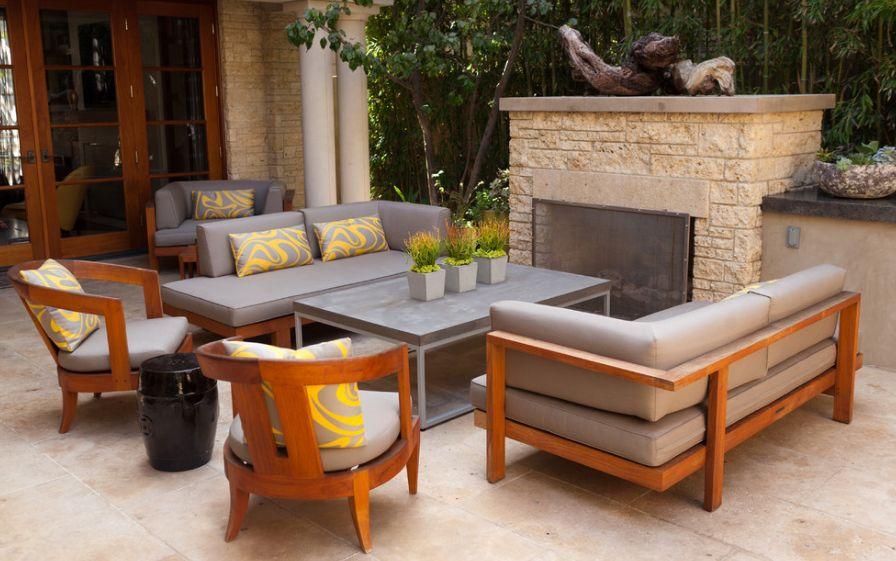 teak furniture home decorating trends - homedit SHEQCBJ