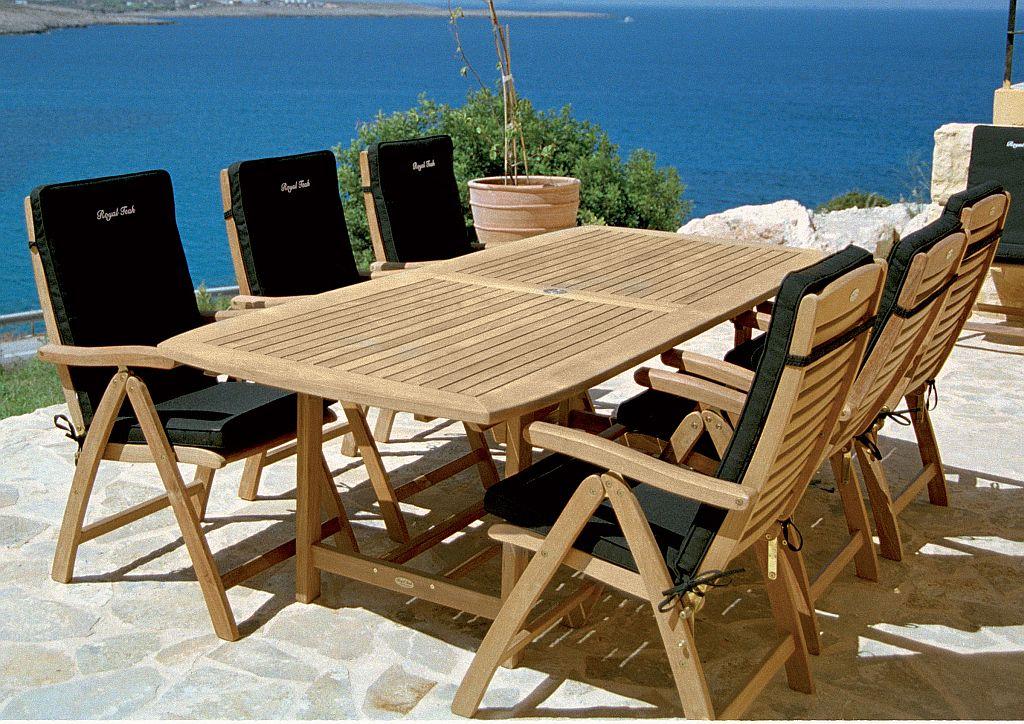 teak outdoor furniture to accentuate your deck or garden WORJEIT
