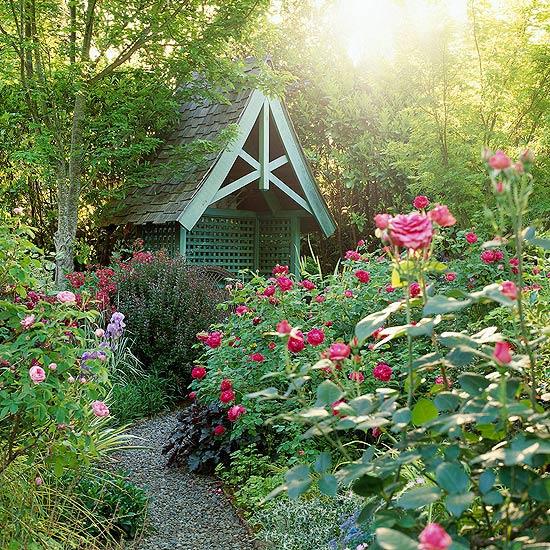 the elements of cottage garden design FBDQOHD