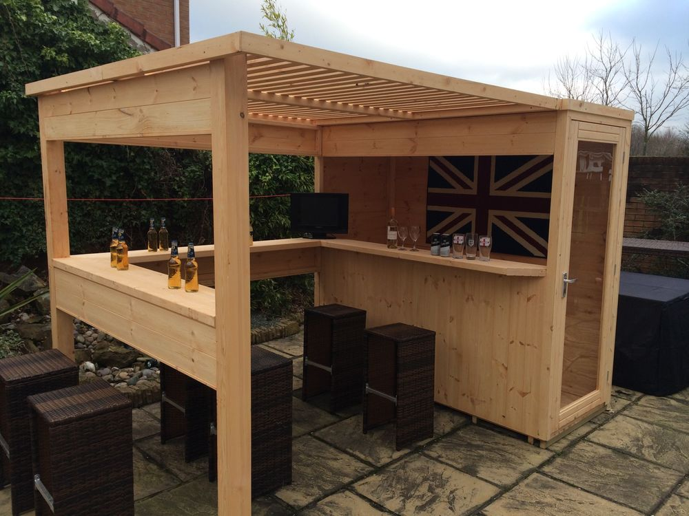 the sports bar. garden bar, summer house, garden shed. JMFNYFQ