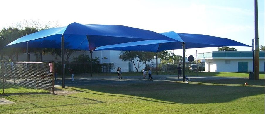 these exceptional sun shade structures are more affordable that  conventional metal structures, but can withstand PGIREZM
