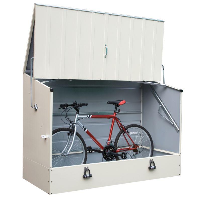 trimetals bike shed cream NLRTMQV