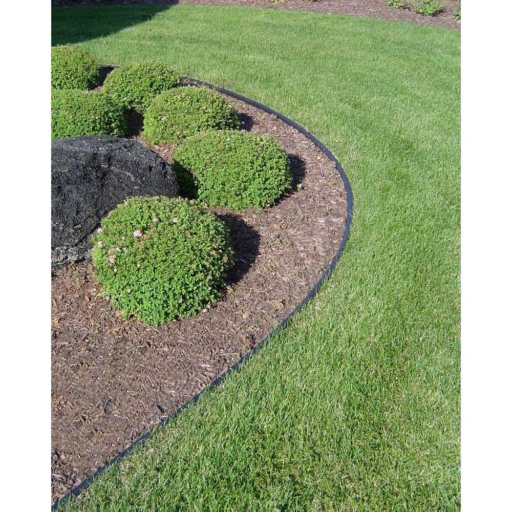valley view industries royal diamond 60 ft. plastic lawn edging-rd-60 - the  home depot NQZEUFN