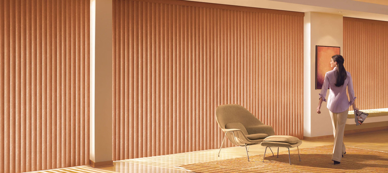 vertical blinds somner in barnwood PTEVAJR