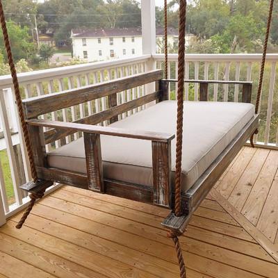 vintage porch swings creekside porch swing u0026 reviews | wayfair JXINSUO