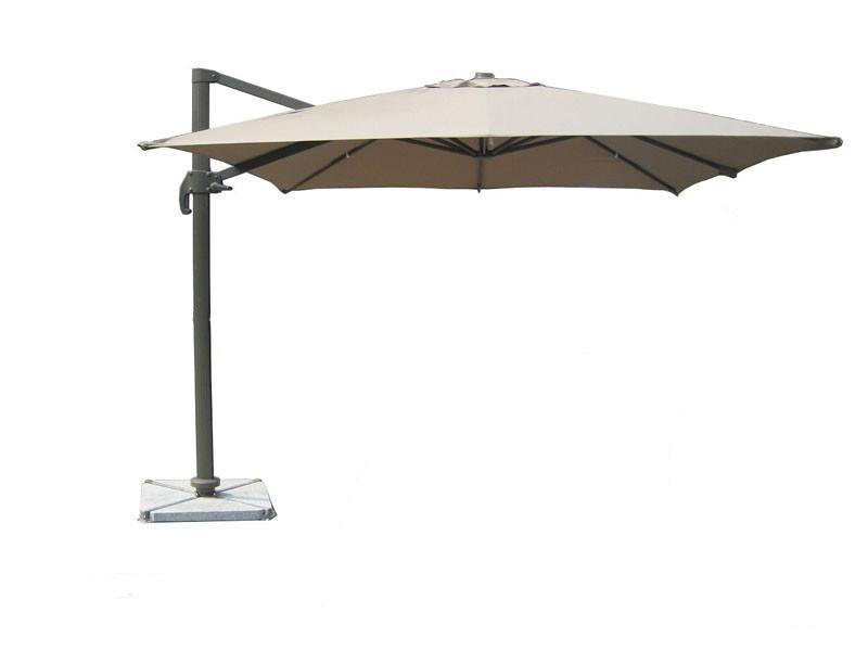 white offset patio umbrellas QAVPYZK