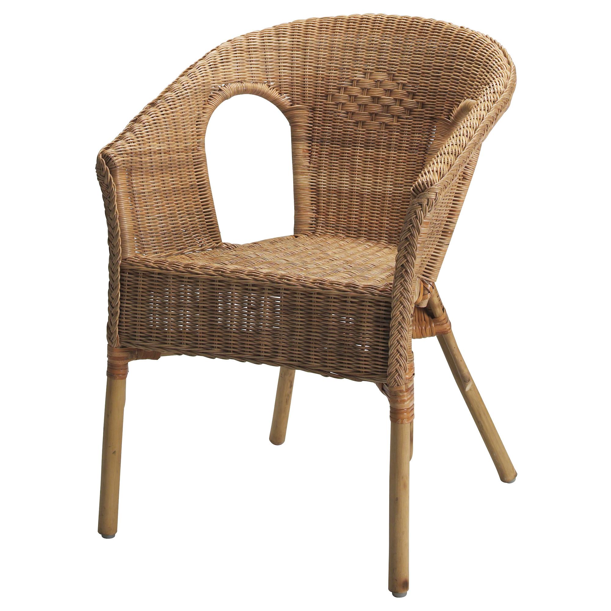 wicker chairs agen armchair - ikea PZKGJLS