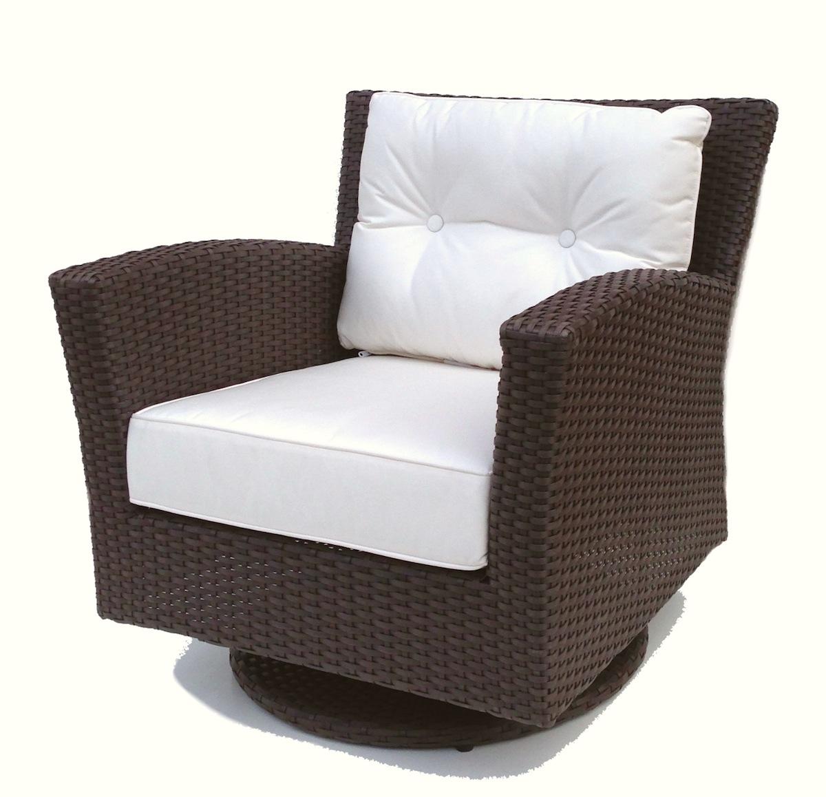 wicker chairs outdoor wicker swivel rocker chair - sonoma KKVSFBV